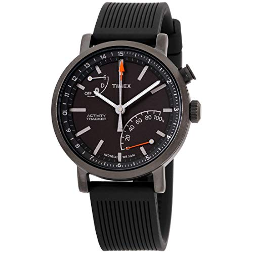 Timex Metropolitan+ Activity Tracker Quartz Movement Black Dial Unisex Watch TW2P82300