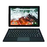 [Artículo Adicional 3] Simbans TangoTab 10 Pulgadas Tableta con Teclado, Ordenador Portátil 2 en 1, Android 10, 4 GB RAM, Disco 64 GB, Mini-HDMI - TLX