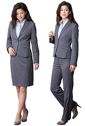 (ティセ)TISSE 46-761007 レディース スーツ オフィス 通勤 事務服 リクルート ワンボタンテーラージャケット&台形スカート&パンツスーツ