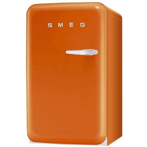 Smeg FAB10LO - Nevera combi (Independiente, Naranja, Izquierda, 114 L,