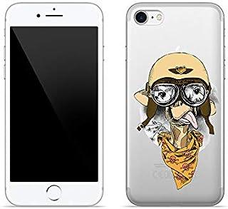 Etui na Apple iPhone 7 - etui na telefon Crystal Design - Śmieszna żyrafa - guma case obudowa silikonowa wzory