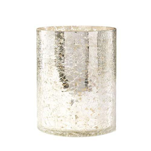 Yankee Candle Kensington - Portacandela in vetro trasparente, taglia unica
