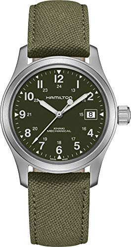 Hamilton H69439363 - Reloj Mecánico Para Hombre (38 Mm), Color Verde