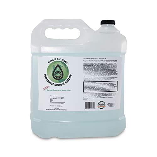 Doctor Kirchner Natural Weed Killer (2.5 Gallon) Kid, Pet & Environmentally Safe