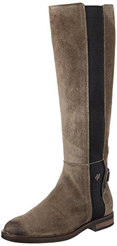 Marc O'Polo Damen Flat Heel Long Boot 70814228001304 Stiefel, Braun (Taupe), 39 EU