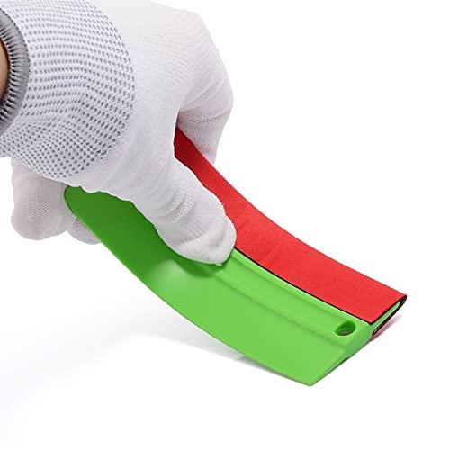 piaopiao Papelera de Vinilo de Vinilo Kit de Herramientas de película de Vinilo Limpiaparabrisas Fieltro de Fieltro Scaper Scaper ScreeGee Wrap Sticker Paste Auto Tint Accesorio