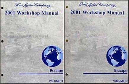 2001 Ford F-150 Repair Shop Manual 2 Volume Set Original