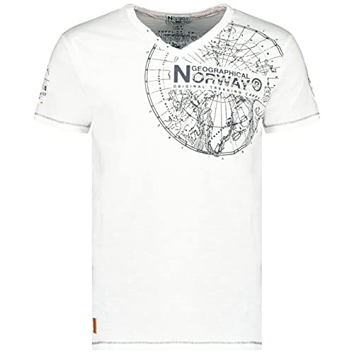 Geographical Norway Jimerable Men – Camiseta de Manga Corta para Hombre –...