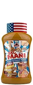 Max Protein Mc Mani - Crema de Cacahuete, Sabor Suave, 500 gr