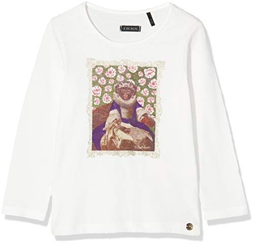 IKKS Junior Tee Shirt ML BLAN Singe Roi, Beige (Blanc Cassé