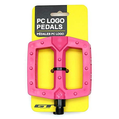 GT PC Logo BMX Pedals Pink -  GT Bicycles, GP2257U90OS