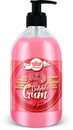 Gel douche au Bubble Gum 500ml Les Petits Bains de Provence