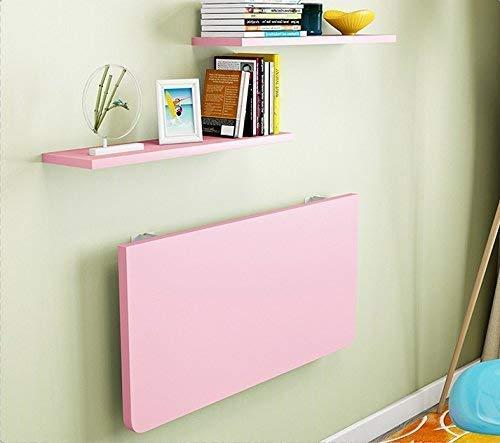 LiTing-Falttisch, Wandmontage, Schreibtisch, Klapptisch, Sekretär, Computertisch, Beistelltisch mit Ablage 50 x 30 cm.