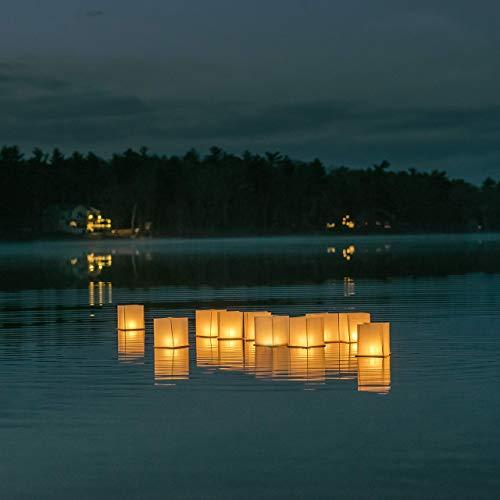 floating lanterns water - 4