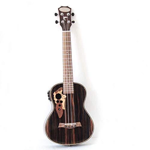 26 pulgadas todo el ukelele eléctrico acústico tenor de Blackwood con el...