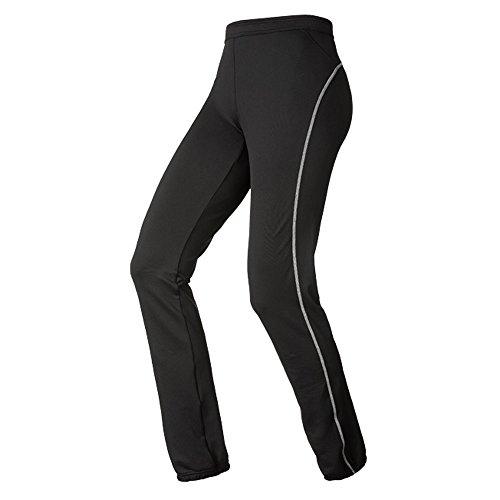 Odlo Version Pantalon lger femme Black/Ebony Grey FR : 48/50 (Taille Fabricant : XL)