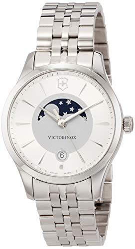 Victorinox Mujer Alliance Small - Reloj de Acero Inoxidable de Cuarzo analógico de fabricación Suiza 241833