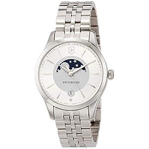 Victorinox Mujer Alliance Small – Reloj de Acero Inoxidable de Cuarzo
