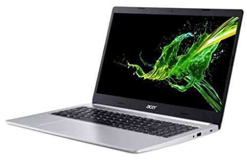 Acer Aspire 5 A515-55G-562Z Notebook Silver 39.6 cm (15.6') 1920 x 1080 pixels 10th gen Intel Core i5 8 GB DDR4-SDRAM 512 GB SSD NVIDIA GeForce MX350 Wi-Fi 6 (802.11ax) Linux Aspire 5