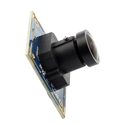 ELP 170degree fisheye Lens 8MP Camera Module with USB Port for HD high Resolution Video Image View