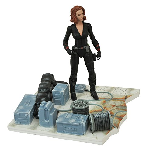 Marvel Select Avengers Age Of Ultron Black Widow Action Figurine