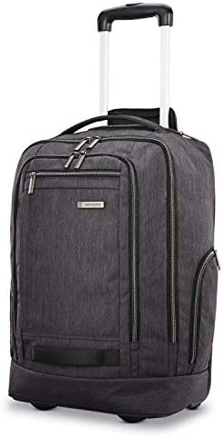 Samsonite Modern Utility Convertaible Wheeled Backpack Charcoal Heather One Size product image