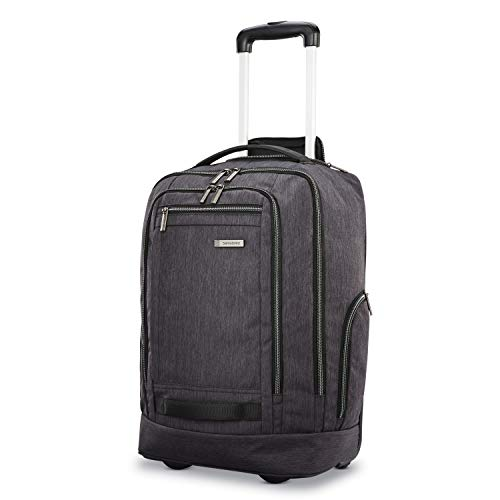 Samsonite Modern Utility Convertaible Wheeled Backpack, Charcoal Heather, One Size