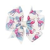 BDLEZI Hairpin Kinder beugen Hairpin 3 Zoll Satinband-Baby Haar-Accessoires Handmade Haarschmuck (Color : Beige)