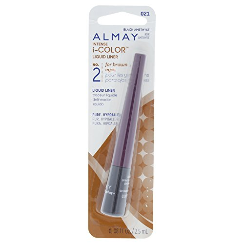 Almay Intense i-Color Liquid Liner, Purple Amethyst [021], 0.08 oz