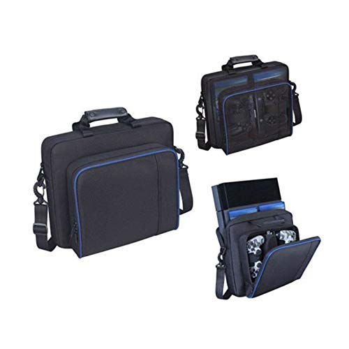Vvciic Draagtas voor Playstation, reis-schoudertas, nylon, draagbaar, robuust en duurzaam, voor Playstation PS4 Playstation