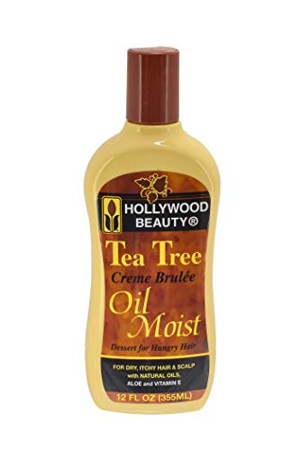 Hollywood Beauty Tea Tree Oil Moist 12 Oz