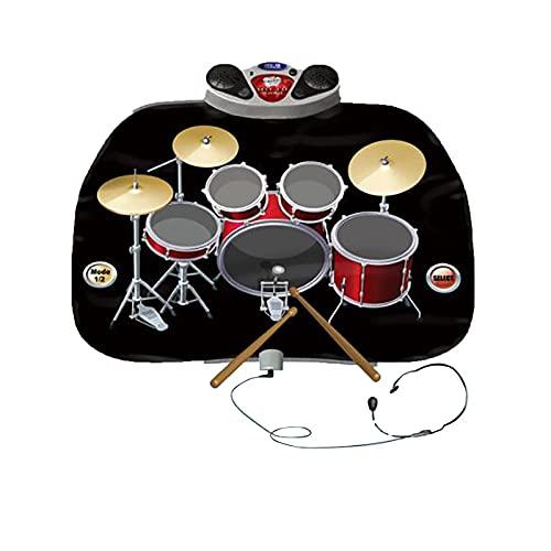 2 in 1 Kinder Elektrische Tanzmatte Zuhause Multifunktionale Jazz Drum E-Piano Musik Spielmatte Decke
