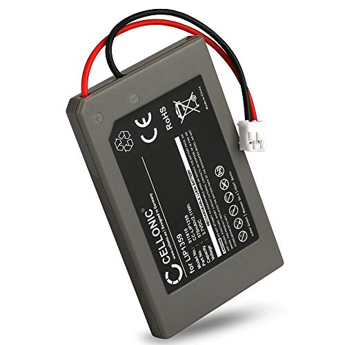 CELLONIC® Qualitäts Akku kompatibel mit Sony Playstation 3 Controller, PS3 Dualshock (CECHZC2A,CECHZC2E,CECHZC2H,CECHZC2J,CECHZC2U), LIP1359 570mAh Ersatzakku Batterie