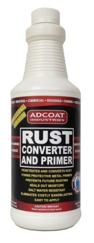 Rust Converter and Primer - Quart (32 Ounce) - One-step to Remove Rust and Prime Surface