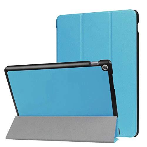 Funda de Cuero magnética para ASUS ZenPad 10 Z300 Z300C Z300CL Z300CG Z300M Z301 Z301ML Funda Protectora para Tableta de 10,1 Pulgadas-Azul