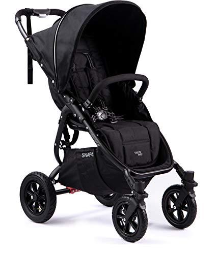 Valco Baby Original Snap 4 SPORT Single Stroller AIR Wheels (Coal Black)