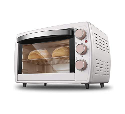 ZOUSHUAIDEDIAN El horno eléctrico, el horno de la tostadora de convección con el temporizador, la tostada, los ajustes de asado, incluye la bandeja para hornear, el bastidor y la bandeja de miga, 1200
