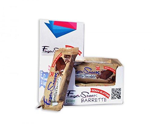 Dmf Dietetic Metabolic Food Barrette Senza Glutine FingerSnack Cioccolato - 24 Barrette da 30 g