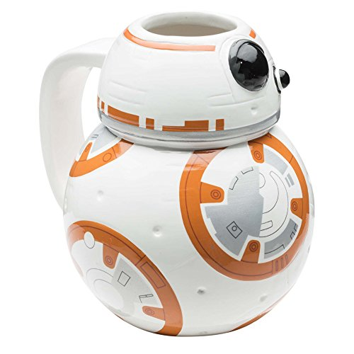 Zak Designs Star Wars Coffee Mug, 12 oz, BB-8