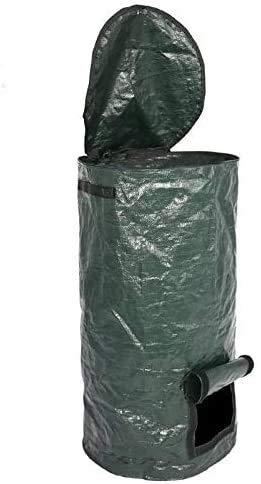 New Zxcv Organic Waste Kitchen Garden Yard Compost Bag Environmental PE Cloth Planter Kitchen Waste ...