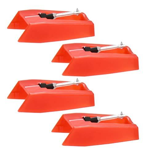 BUYGOO Stylus Nadeln für Plattenspieler Nadel Ersatznadeln Plattenspieler für Vinyl Player von Crosley, Ion, Numark, Bush, Sanyo, Fisher, Pyle, Philips, Gemini