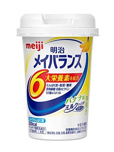 明治メイバランスMiniカップ バナナ味 (125ml×12本)×2箱