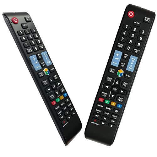 iLovely AA59-00581A Reemplazo Mando para Samsung Smart TV Control Remoto para Samsung TV - Reemplazado BN59-01198Q AA59-00580A AA59-00582A - No Requiere Configuración Control Remoto Universal