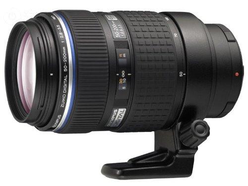 Olympus 50-200mm 1:2.8-3.5 SWD Schwarz - Kameraobjektive (16/15, 1,2 m, 2,8-3,5, Auto/Manuell, 50-200 mm, 100-400 mm)