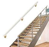 Pasamanos de Escalera con Soporte, Pasamanos de Escalera de Madera, contra la Pared Loft Interior Barandillas for Ancianos Pasamanos Pasillo Pasamanos Antideslizante Sin barreras ( Size : 30cm/1ft )