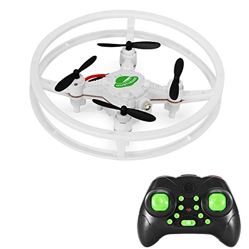 MAKETHEONE FQ777-124 Pocket Drone 4CH 6Axis Gyro Quadcopter with Switchable Controller RTF