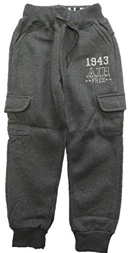 VanessasShop Coole jongens joggingbroek in de maten 98-152 met opgenaaide zakken
