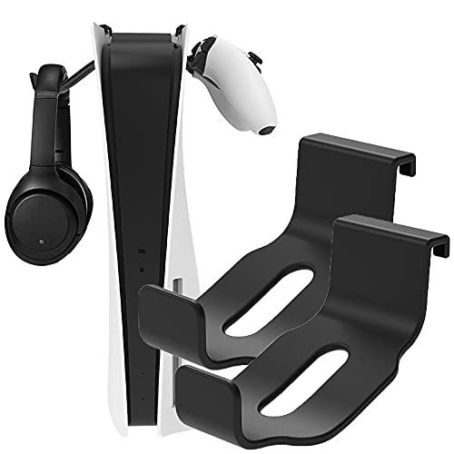 PS5 Console Headset Hanger, Kopfhörer Wand Halterung Halterung Aufhänger Lagerung Stehen für Xbox Serie X/PS5 Konsole Headset, Installation in One Step