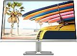 HP 24fw – Monitor de 24' Full HD (1920 x 1080, 75Hz, 5ms, IPS LED, 16:9, ADM FreeSync, HDMI, VGA, Antirreflejo, Antiestático, Low Blue Light, Inclinación Ajustable) Plata