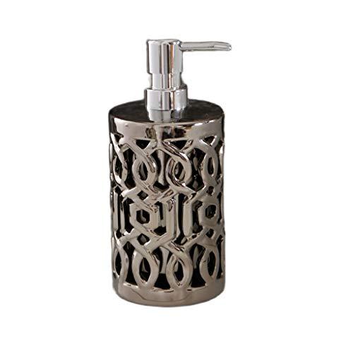 hanxiaoyishop Dispensador de Jabon Botella de desinfectante de Manos Detergente Hallower Hallower Detergente Hueco Loción de Gel de Ducha Botella de dispensador de jabón Dispensador Jabon
